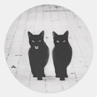 Two Black Cats sticker