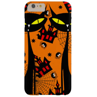 Two Black Cats with Evil Eyes Barely There iPhone 6 Plus Case