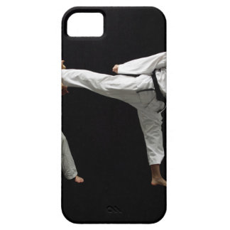 Two Blackbelts Sparring 2 iPhone 5 Case