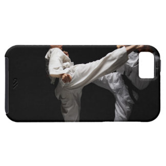 Two Blackbelts Sparring iPhone 5 Covers