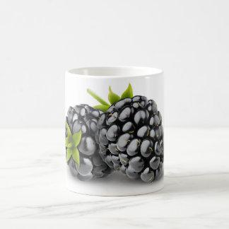 Two blackberries coffee mug