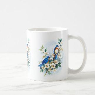 Two Bluebirds Coffee Mug