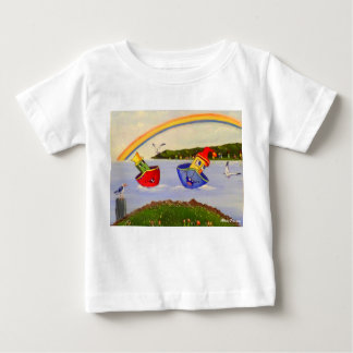 TWO BOATS IN THE HARBOUR BABY T-Shirt
