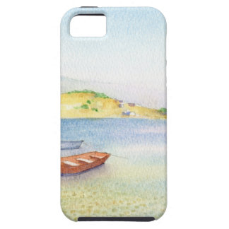 Two boats inn Greece Case For The iPhone 5