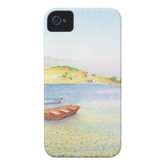Two boats inn Greece Case-Mate iPhone 4 Case