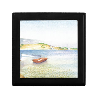 Two boats inn Greece Gift Box
