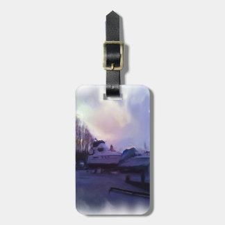 Two Boats Luggage Tag