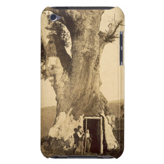 Two boys at the doorway of their treehouse, c.1870 iPod touch cases