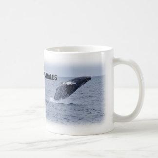 Two Breaching Humpback Whales Mug