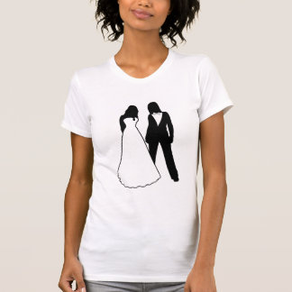 Two Brides Wedding T-Shirt