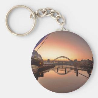 Two Bridges Basic Round Button Key Ring