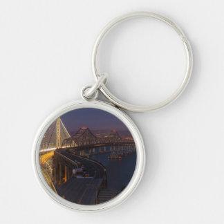 Two Bridges San Francisco–Oakland Bay Bridge Key Chain