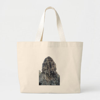 Two Buddhas of Ankor Wat .jpg Jumbo Tote Bag