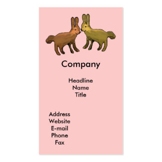 Two Bunnies Business Cards