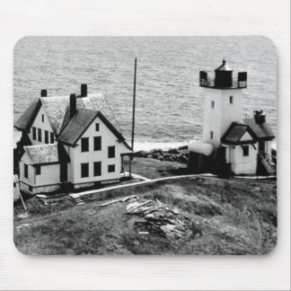 Two Bush Island Lighthouse Mouse Pad