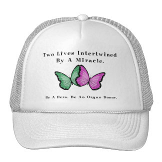 Two Butterflies Are One Hats