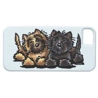 Two Cairn Terriers iPhone 5 Covers
