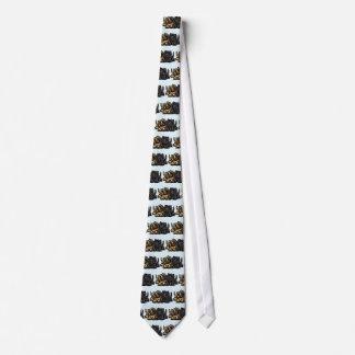 Two Cairn Terriers Tie