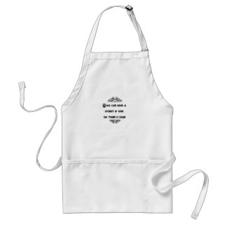 two can keep a secret if one of them is dead apron