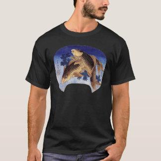 Two Carps, Hokusai T-Shirt