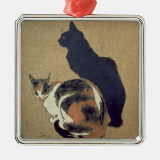 Two Cats, 1894 Christmas Ornament