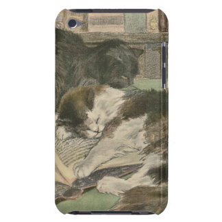 Two Cats and a Book iPod Case-Mate Case