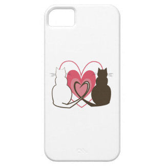Two Cats iPhone 5 Case