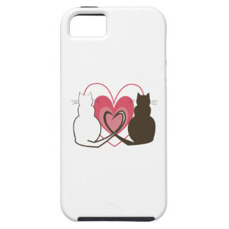 Two Cats iPhone 5 Covers