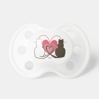 Two Cats Baby Pacifier