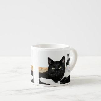 Two Cats in Love 6 Oz Ceramic Espresso Cup