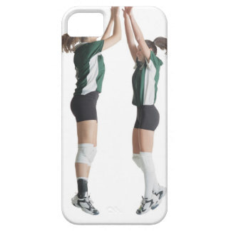 two caucasian female volleyball players from the barely there iPhone 5 case