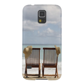 Two Chairs On Beach | Barbados Galaxy S5 Case