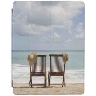 Two Chairs On Beach | Barbados iPad Cover