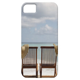 Two Chairs On Beach | Barbados iPhone 5 Covers