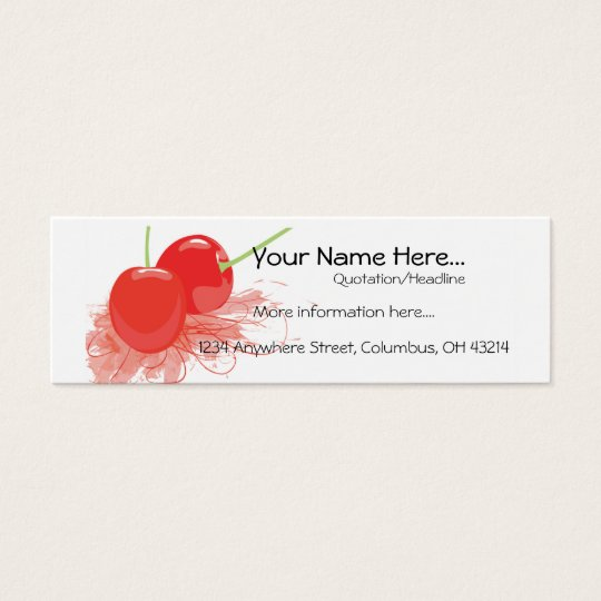 Two Cherries Profile Cards