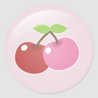 Two Cherries Stickers