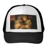 Two Cherubs Reading by Rosso Fiorentino Hat