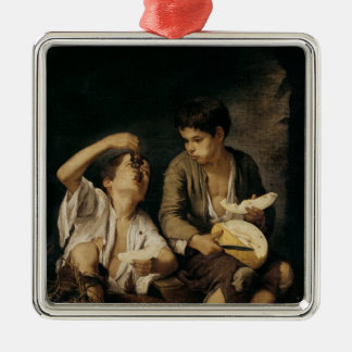 Two Children Eating a Melon and Grapes, 1645-46 Christmas Ornament