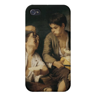 Two Children Eating a Melon and Grapes, 1645-46 iPhone 4 Case