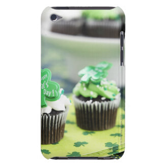 Two chocolate cupcake for St. Patrick's Day Barely There iPod Covers