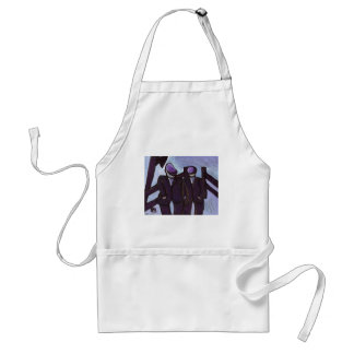 TWO COAL MINERS APRONS