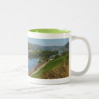 Two-colored cup green central Rhine Valley with Two-Tone Mug