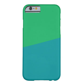 TWO COLORED: GREEN AND TEAL   iPhone Case Barely There iPhone 6 Case