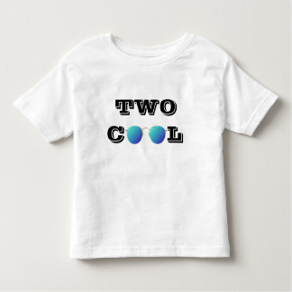 TWO COOL - BLUE TINTED SUNGLASSES TODDLER T-Shirt