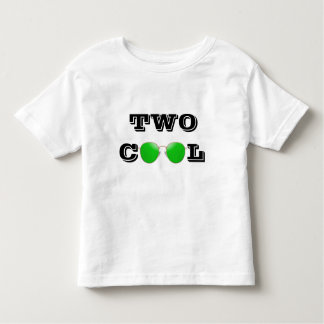 TWO COOL - GREEN TINTED SUNGLASSES TODDLER T-Shirt