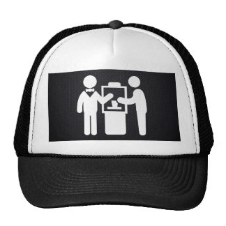 Two Coworkers Pictograph Cap