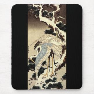 Two Cranes Mouse Mat