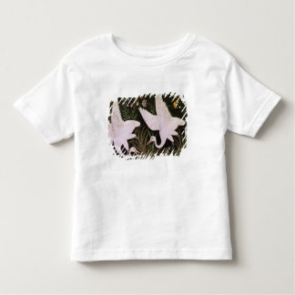 Two Cranes on the Edge of a Pond Toddler T-Shirt