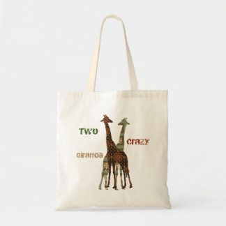 Two Crazy Looking Giraffes