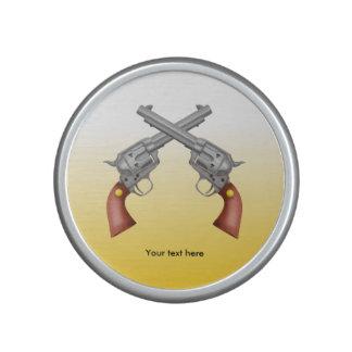 Two Crossed Westen Pistols Bluetooth Speaker